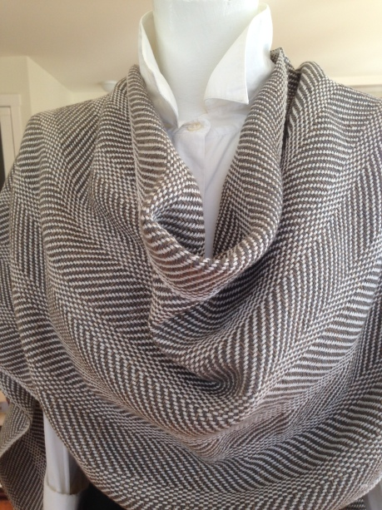 Grey Twill Drape