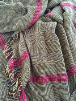 Cotton, rayon, wool